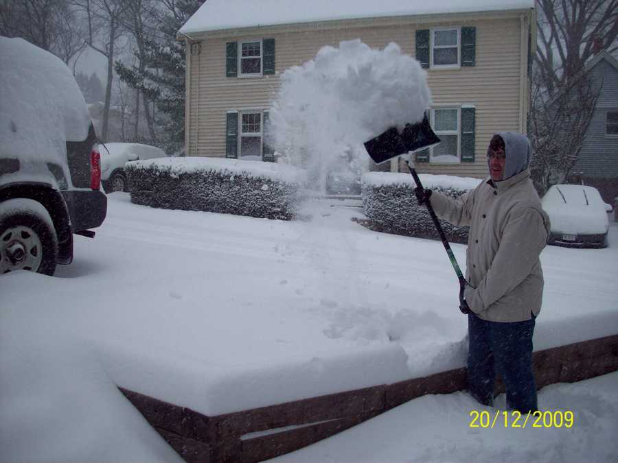Newton got 2.0 inches of snow according to the National Weather Service.(All photos are of the location referenced, but for illustrative purposes and not necessarily from the Nov. 7 storm)
