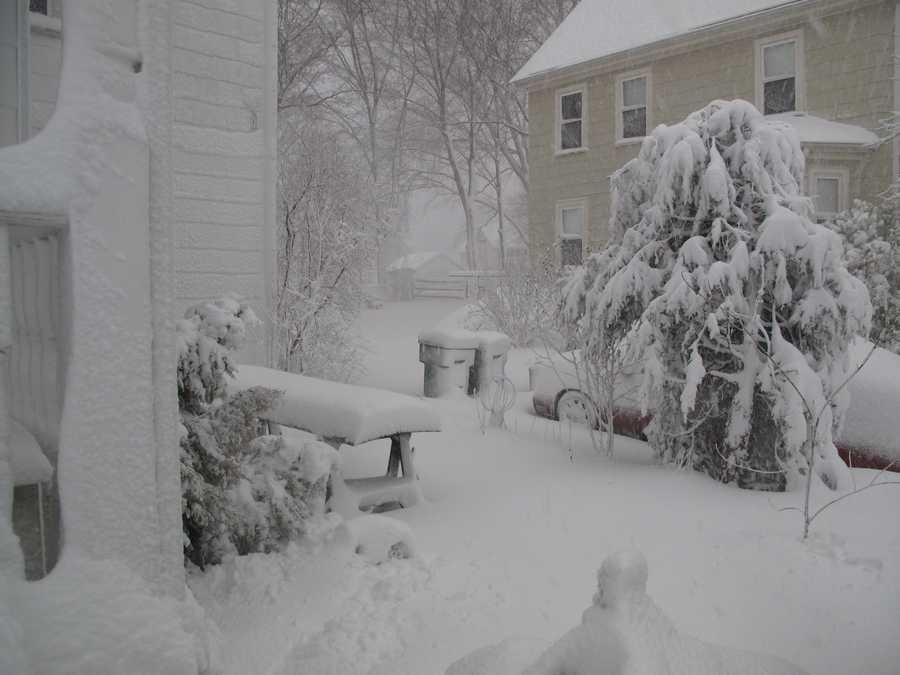 Norwood got 4.5 inches of snow according to the National Weather Service.(All photos are of the location referenced, but for illustrative purposes and not necessarily from the Nov. 7 storm)