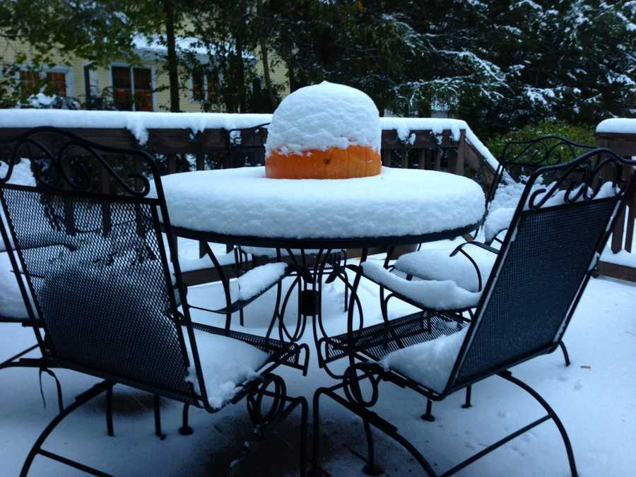 The early November storm brought more snow than originally forecast in some communities.