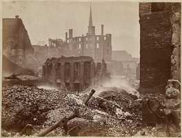 By the time the fire was contained a day later, it had consumed approximately 65 acres of Boston's downtown, destroyed 776 buildings and killed at least twenty people.