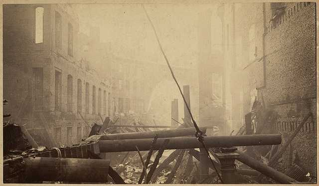 In the early evening hours of Nov. 9, 1872, a fire broke out in a warehouse at the corner of Summer and Kingston streets in Boston.