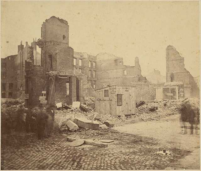 On Nov. 9, 1872, the Great Fire of Boston destroyed 776 buildings, charred 65 acres and killed at least 20 in what is today's Financial District.