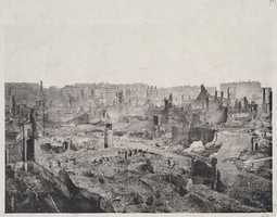 Panorama view of the ruins