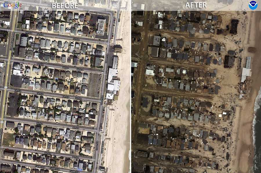 Emergency responders and members of the public can now get a birds-eye view of some of the destruction caused by Hurricane Sandy.