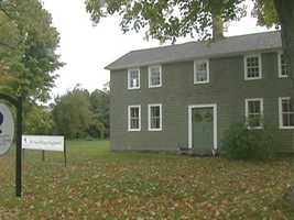 This 18th century structure houses the Great Barrington Historical Society.