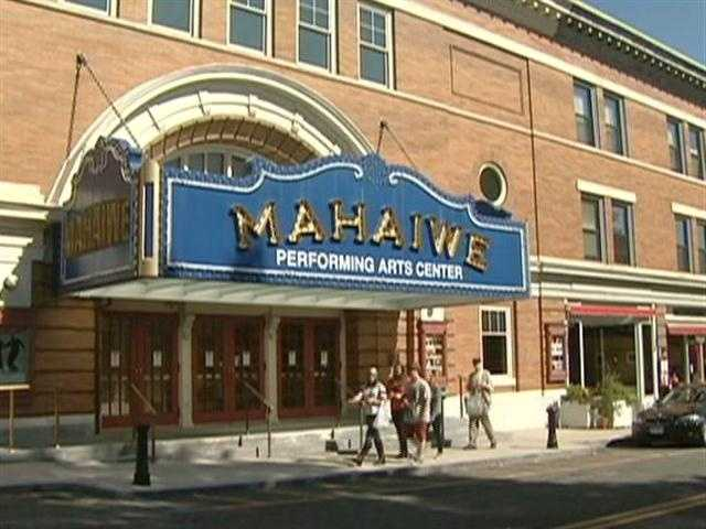 The Mahaiwe Theater opened in 1905.