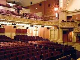 A nine million dollar renovation restored the theater's original glory.