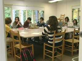 The average age at Bard College is 16, with degree candidates as young as 11.