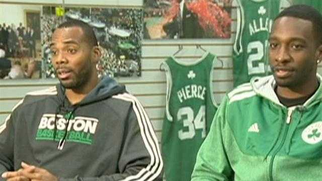 Celtics Chris Wilcox, Jeff Green discuss open heart surgery