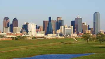 In Dallas, the perfect woman has brown hair, hazel eyes, is a social drinker who does not smoke and has a master's degree.