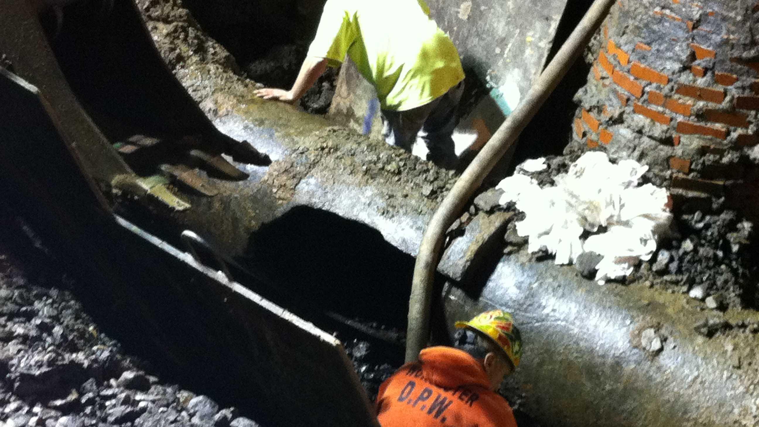 Worcester Water Main Repair