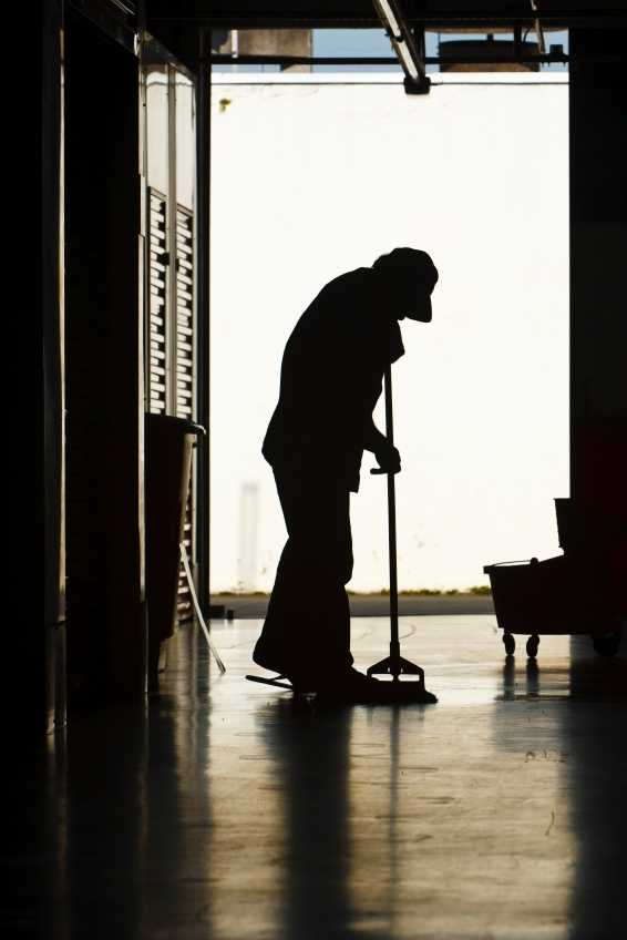 Researchers found that housekeepers, janitors, and other blue-collar workers who rarely sit during the day have neither the time nor the energy to benefit from traditional weight loss recommendations.