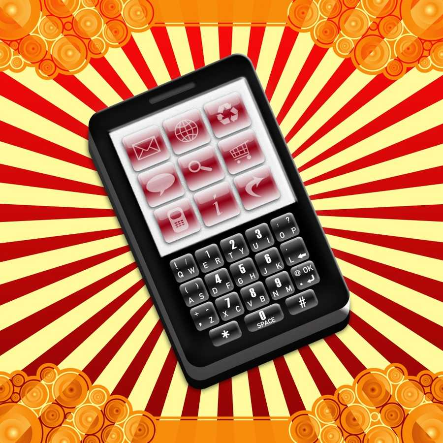 Point the number pad toward your body if you store the phone in your pocket&#x3B; the radiation is emitted from the back of the phone, so you can broadcast more of it away from your precious bodily tissues.