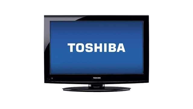 "In need of a new TV? A 40"" Toshiba 1080p will cost $179.99."