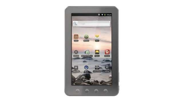 "A Coby Kryos 7"" Android tablet will cost $69.99 -- an $80 savings."