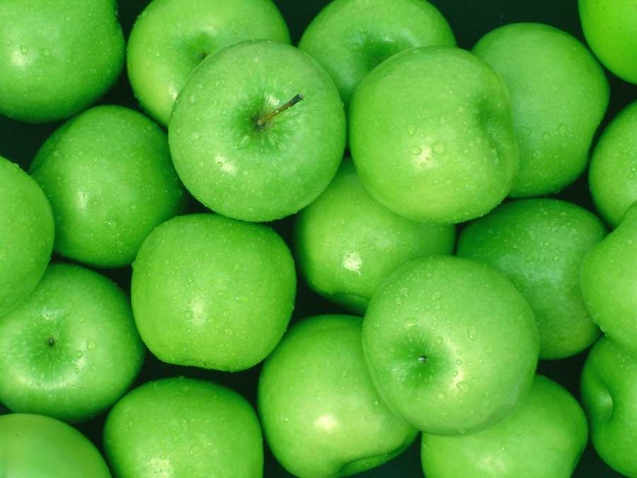 Besides being crisp, sweet, and juicy, apples contain Quercetin a nutrient that protects the cell's DNA from getting damaged that could lead to the development of cancer.
