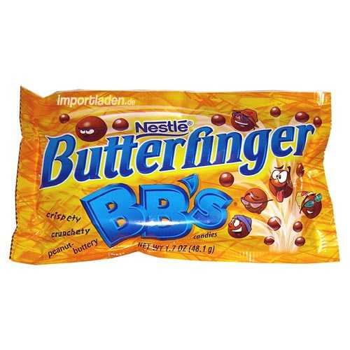 Foods that don't exist anymore include Butterfinger BB's that stopped production in 2006.