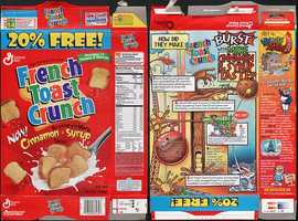 French Toast Crunch ended production in 2006 in the United States.