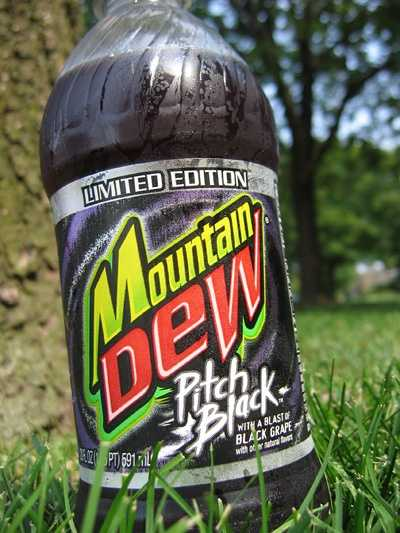Mountain Dew Black has been in and out of production.
