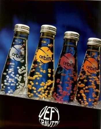 This combination of a soft drink and floating dots met its end in 1997.