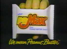 PB Max candy bar made by Mars.