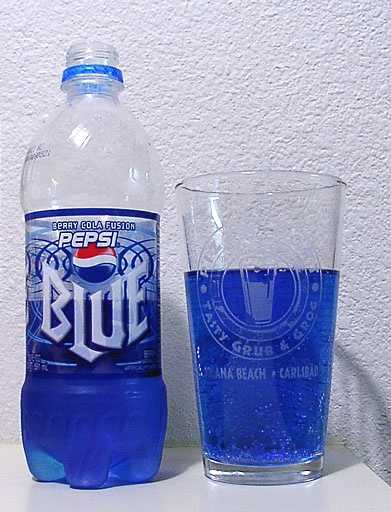 Pepsi Blue was discontinued in 2004