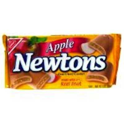 Apple Newtons are no longer on the Nabisco website.