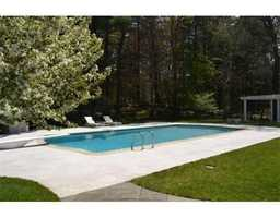 Heated Gunite pool.