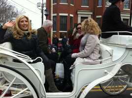 NewsCenter 5's EyeOpener team were the Grand Marshal's for America's Hometown Thanksgiving Parade Saturday.