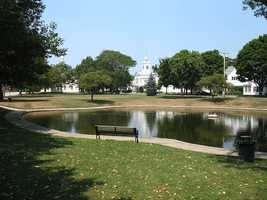 #11. - Cohasset had an SIR of 191.7 in 2004-2008 according to data from the Massachusetts Department of Public Health.