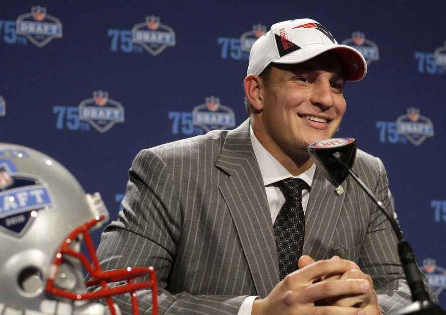 Gronkowski was drafted by the Patriots in the second round (42nd overall) of the 2010 NFL Draft.