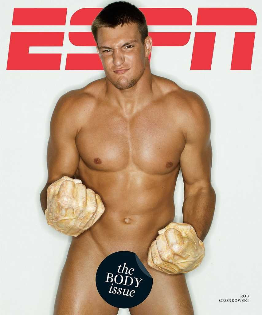 "Gronkowski, who tends to always make off-the-field news, made headlines when he appeared on the front cover of the ESPN The Magazine ""Body"" issue, which features athletes from sports across the world."
