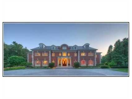 This estate sits on 4.63 acres.