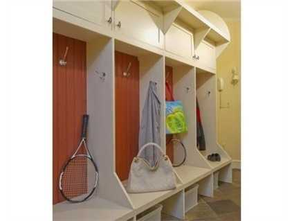 A place for your kids to store their stuff.