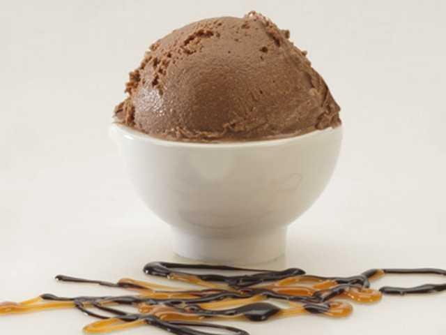 Favorite flavor of ice cream: Brigham's chocolate!