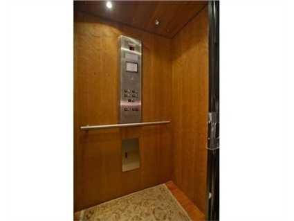 An elevator.