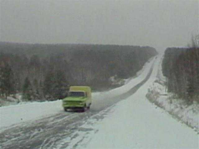 As snow cover increases over Siberia...