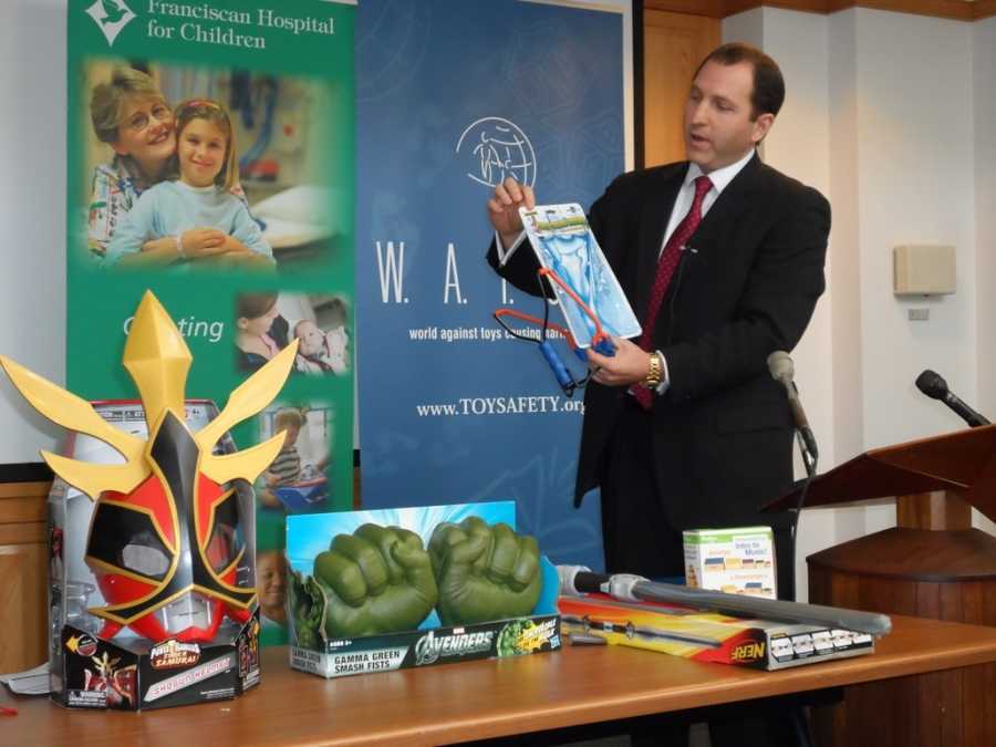 The W.A.T.C.H. group (World Against Toys Causing Harm, Inc.) revealed its nominees for the 10 worst toys of 2012 Tuesday.