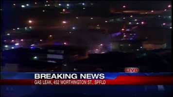 Several people were injured in a gas explosion near downtown Springfield.