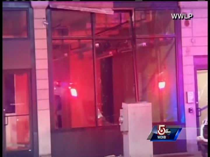 It blew out all windows in a three-block radius, leaving three more buildings damaged beyond repair and prompting emergency workers to evacuate an apartment building that buckled.