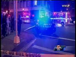 The explosion in a downtown area of Springfield leveled a building housing a strip club.