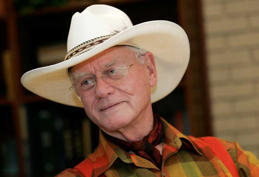 "J.R. Ewing was a business cheat, faithless husband and bottomless well of corruption. Yet with his sparkling grin, Larry Hagman masterfully created the charmingly loathsome oil baron — and coaxed forth a Texas-size gusher of ratings — on television's long-running and hugely successful nighttime soap, ""Dallas."" (September 21, 1931 – November 23, 2012)"