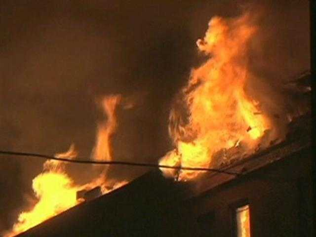 Firefighters from more than a dozen communities were called in to help battle the blaze.