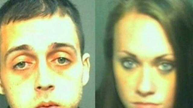 Couple on run in child abuse case found at theme park