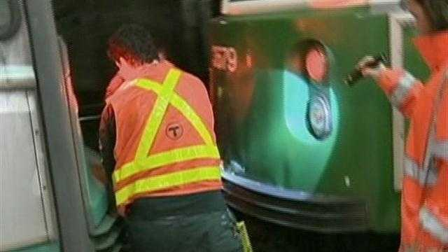MBTA: No cell phone use, mechanical failure in trolley crash