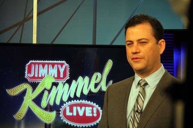 "Kimmel hosted the White House Correspondents' Dinner in 2012. In closing his remarks, Kimmel said, ""I also want to thank Mr. Mills, my 10th grade high school history teacher, who said I'd never amount to anything if I kept screwing around in class. Mr. Mills, I'm about to high-five the President of the United States."""
