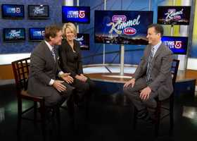 Ed and Heather interview Jimmy Kimmel