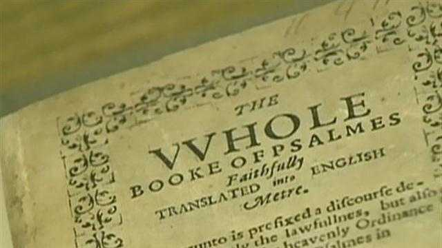 Famous Boston church considers sale of rare Bay Psalm hymnal