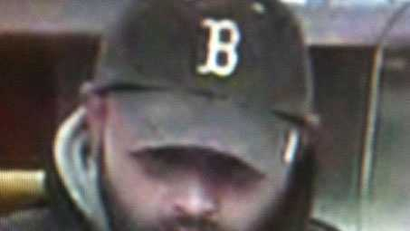 Middleborough police are looking for this man, who robbed the Rockland Trust on South Main Street on Saturday, Dec. 1, 2012.