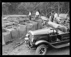 A still explodes killing man in Reading in 1930